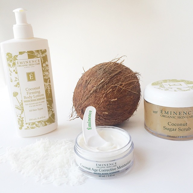 Eminence Coconut Firming Body Lotion & Sugar Scrub
