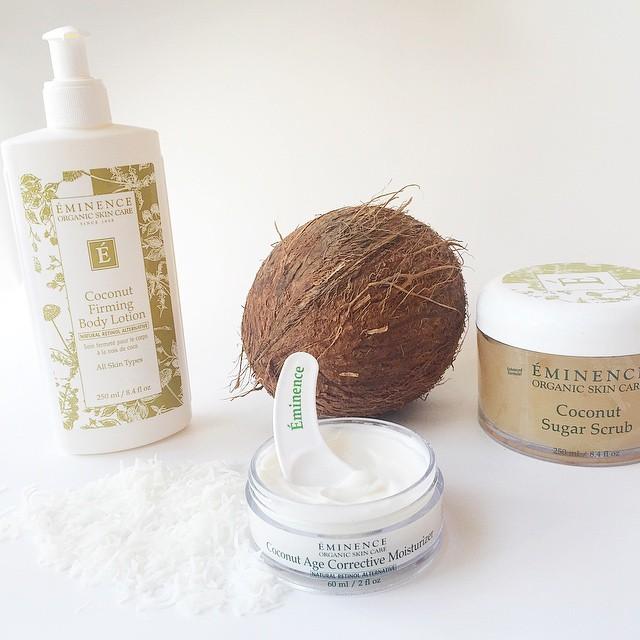 Eminence Coconut Firming Body Lotion & Sugar Scrub
