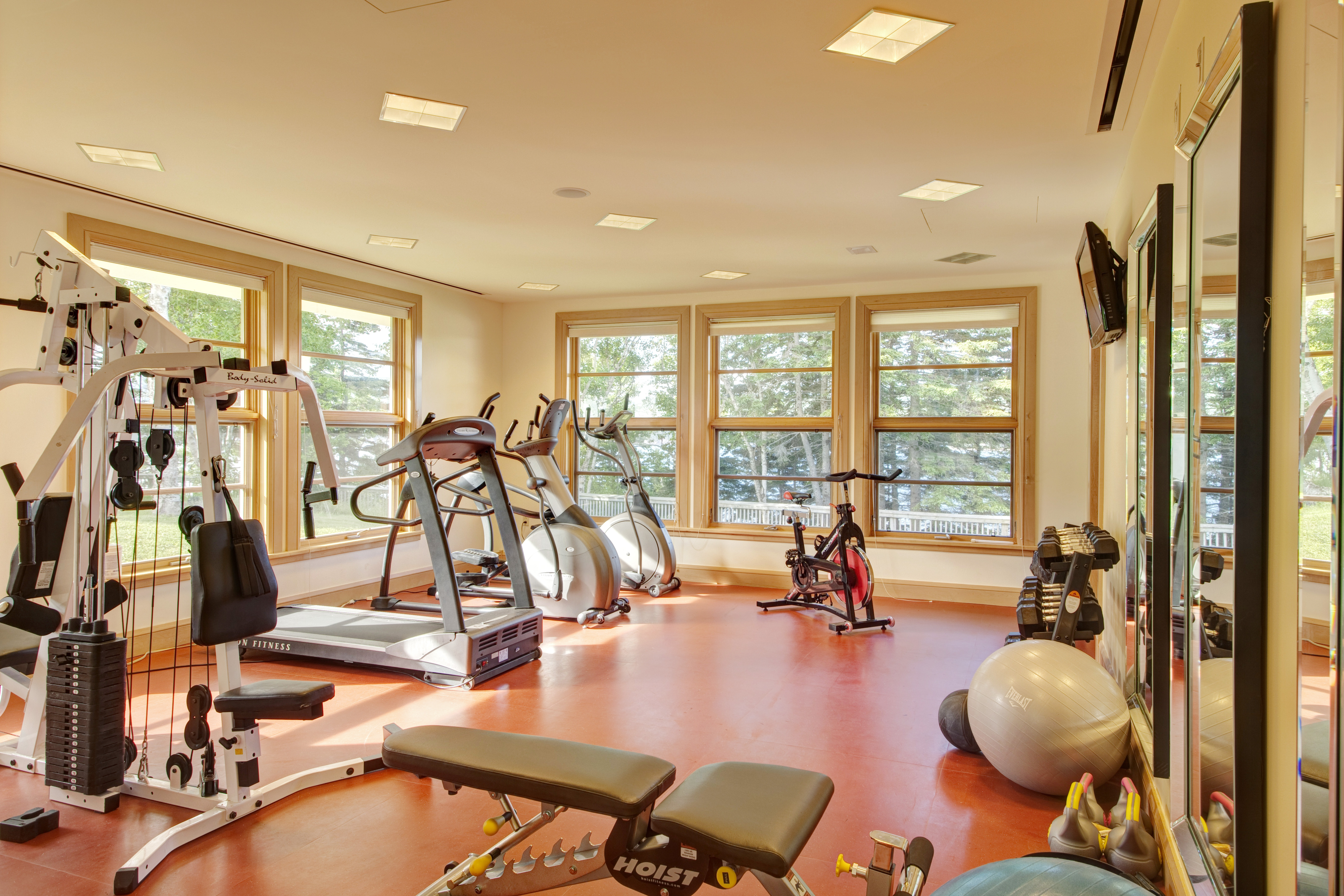 Workout Room at the Spa at Keltic